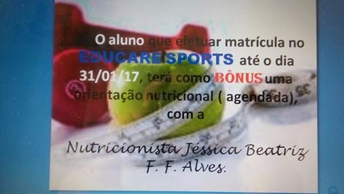 Bônus Educare Sports
