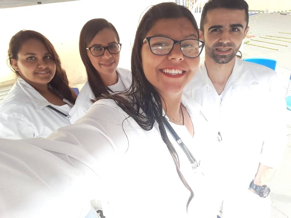 Alunos do Curso Técnico em Enfermagem participam do projeto Recriar- Semana da arte moderna na Escol